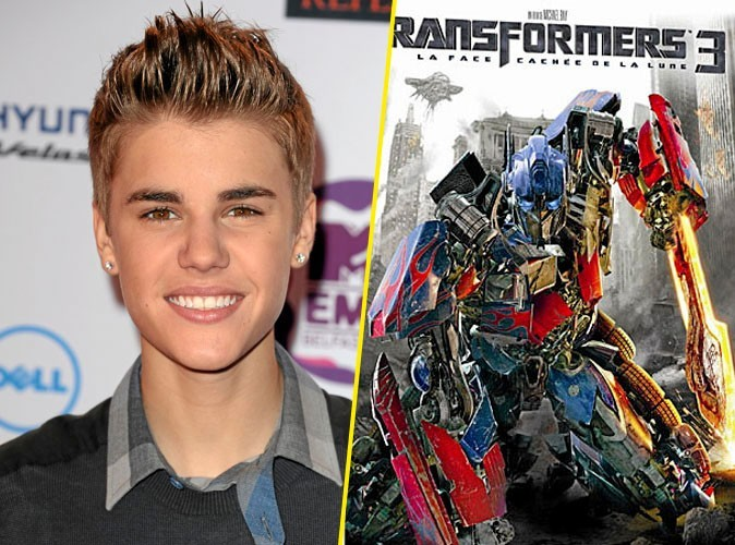 Justin Bieber, on lui conseille : Transformers 3,DVD Paramount. 19,99 €.