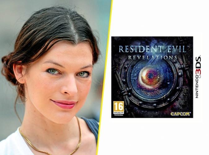 Milla Jovovich, on lui conseille :Resident Evil : Revelations, jeu Nintendo 3DS. 42,50 €.