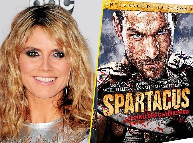 Heidi Klum, on lui conseille :Spartacus, le sang des gladiateurs, saison 1, DVD Fox Pathé. 30 €.