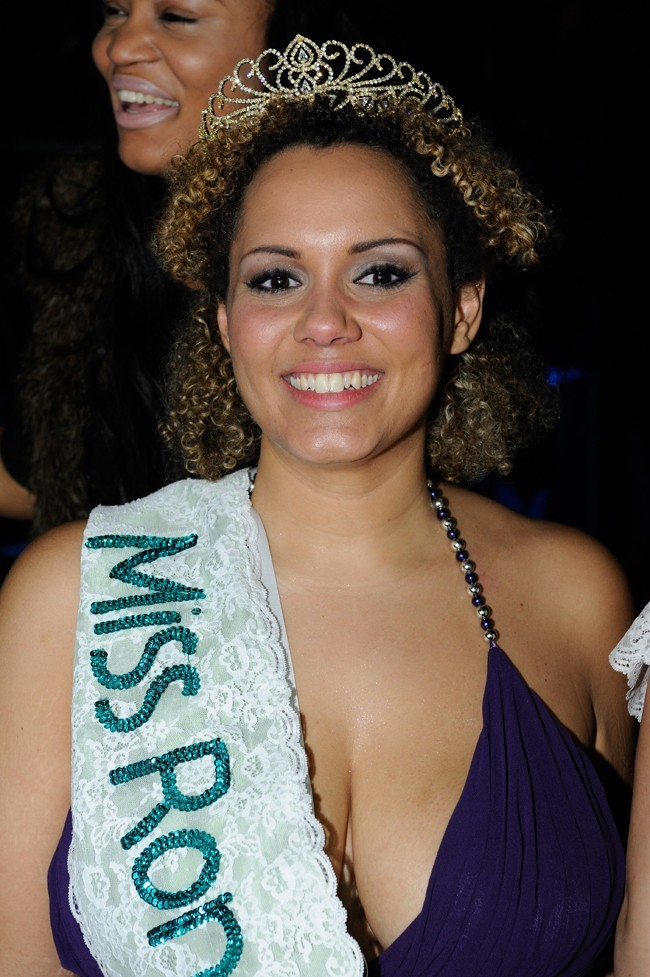 Hyslyne Blanchon, Miss Ronde 2012 !