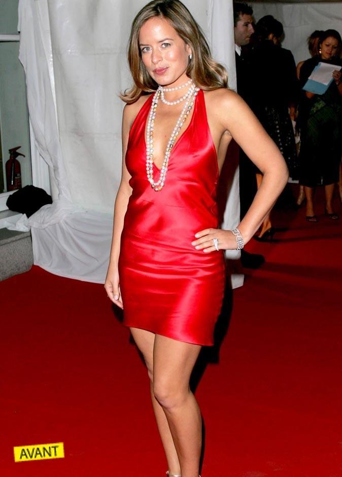 Jade Jagger avait une jolie ligne