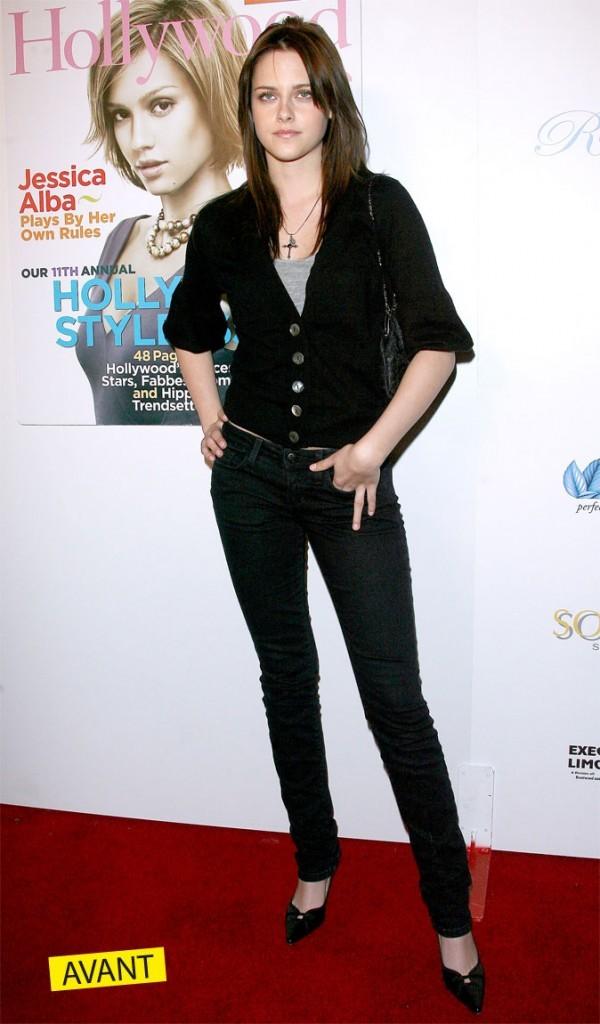 Kristen Stewart ado boudeuse