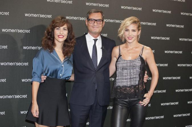 Elsa Pataky, Paula Ortiz et Jaume Miquel à Madrid le 24 septembre