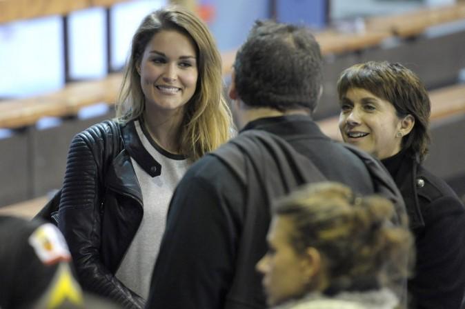 Jeny Priez garde le sourire malgré les tensions