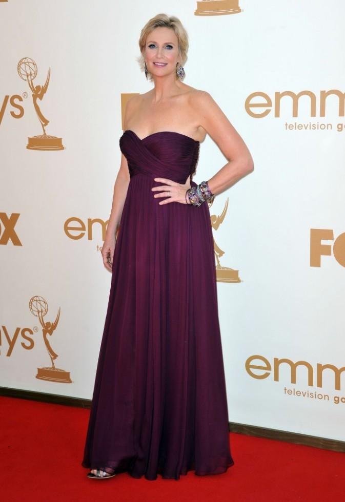 Jane Lynch lors de la cérémonie des Emmy Awards 2011, le 18 septembre 2011 à Los Angeles.