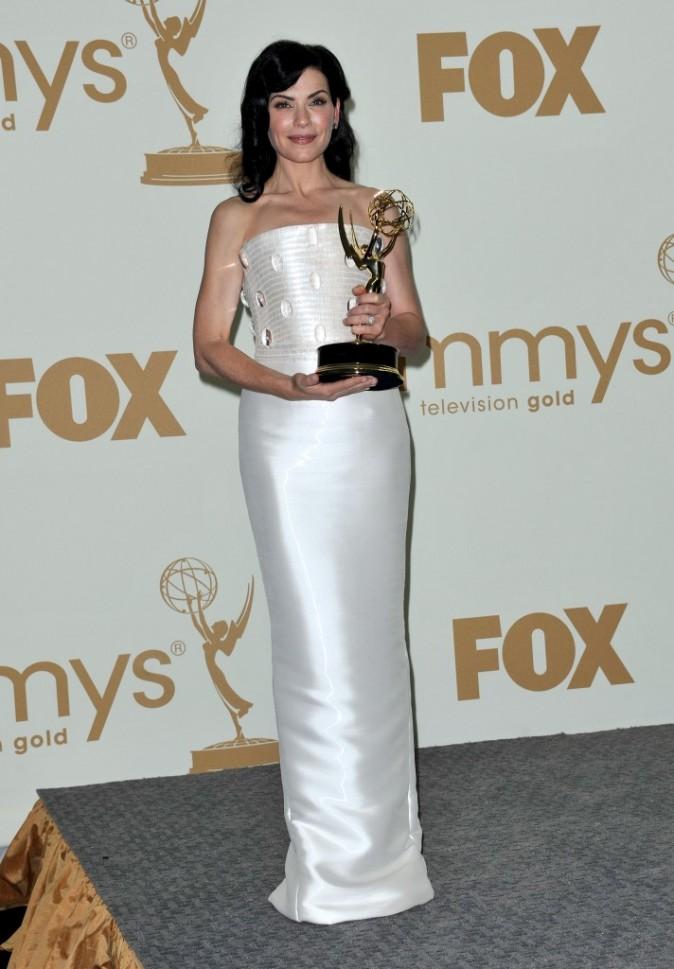 Julianna Margulies lors de la cérémonie des Emmy Awards 2011, le 18 septembre 2011 à Los Angeles.