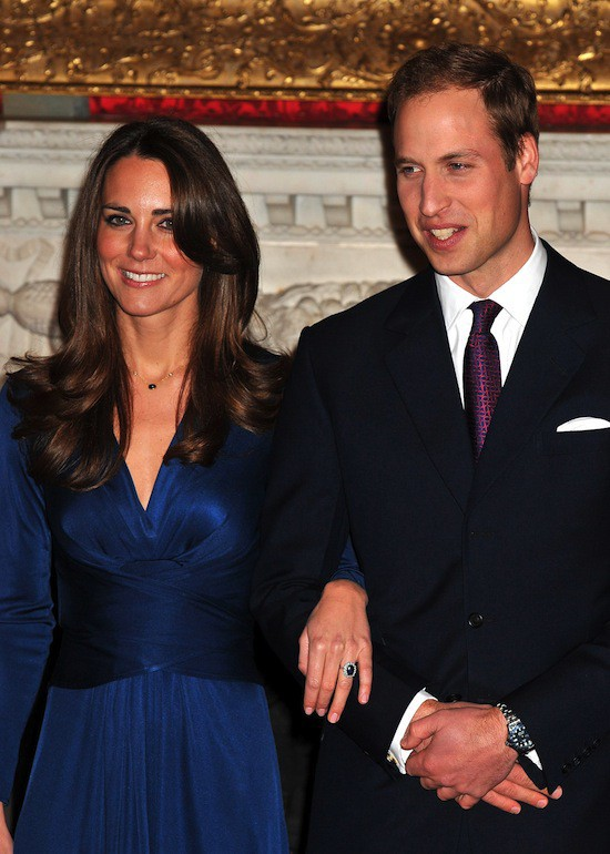 Kate Middleton porte la bague de la princesse Diana
