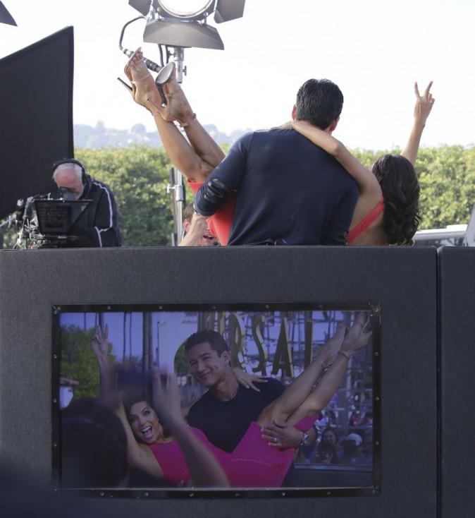 Eva Longoria et Mario Lopez