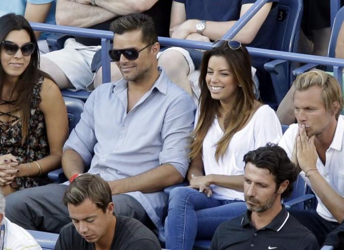 Eva Longoria et Ricky Martin
