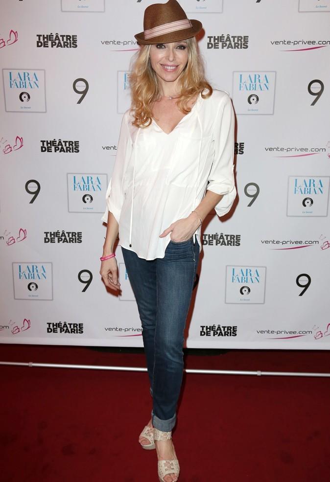 Tonya Kinzinger au concert de Lara Fabian