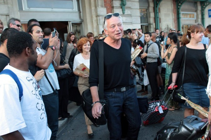 Laurent Boyer, à Nice pour présenter le show!