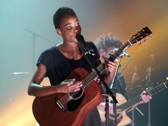 Irma en concert au Trianon, à Paris, le 3 juin 2014