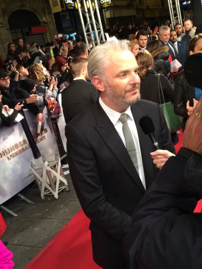 Francis Lawrence le 15 novembre au Grand Rex, Paris, pour l'avant-première de Hunger Games 2