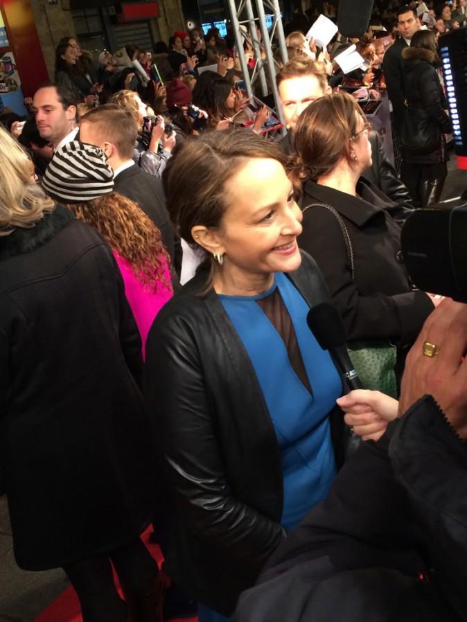 Nina Jacobson le 15 novembre au Grand Rex, Paris, pour l'avant-première de Hunger Games 2