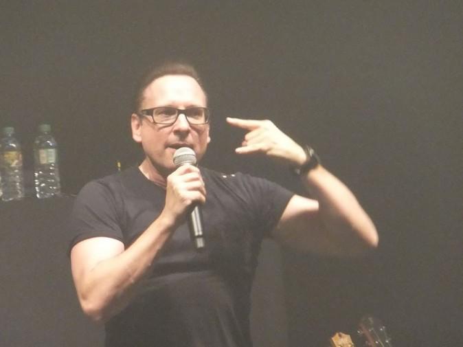 Jean-Marc Généreux au concert de Keen'V au Bataclan, le 17 octobre 2013