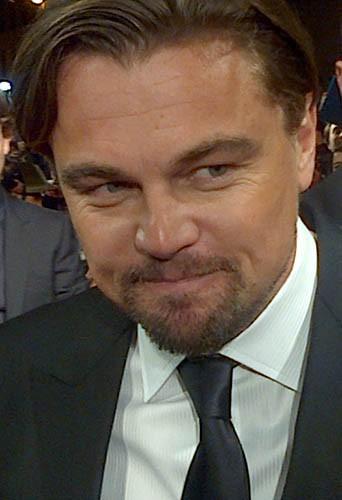 Leonardo DiCaprio à l'avant-première mondiale du Loup de Wall Street à Paris !