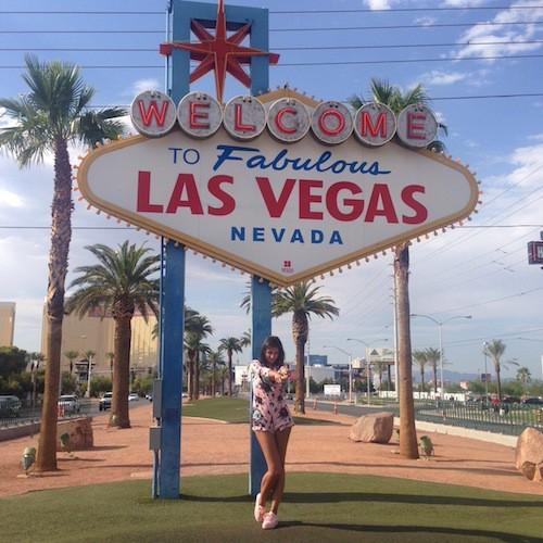 Exclu Public : Photos : Malika Ménard va vous bluffer à Las Vegas !