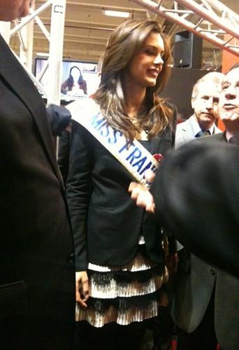Exclu Public : Miss France 2013 : nous avons suivi Marine Lorphelin au Salon de l'Agriculture !