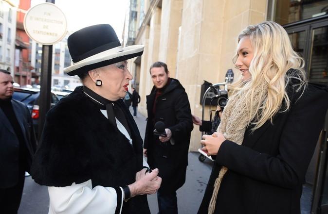 Hôtel Hilton à Paris : Geneviève accueille Miss Prestige National