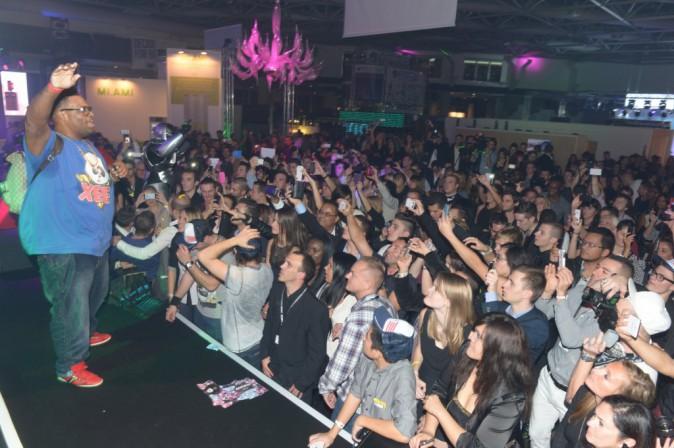 Big Ali lors de la cérémonie des NRJ DJ Awards à Monte Carlo, le 6 novembre 2013.
