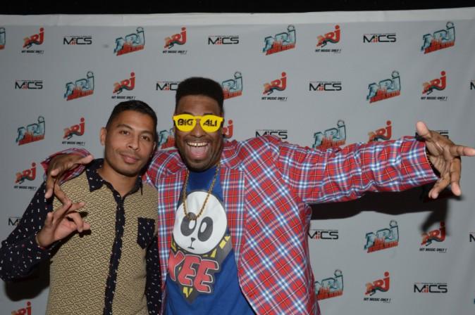 DJ Kashovski et Big Ali lors de la cérémonie des NRJ DJ Awards à Monte Carlo, le 6 novembre 2013.
