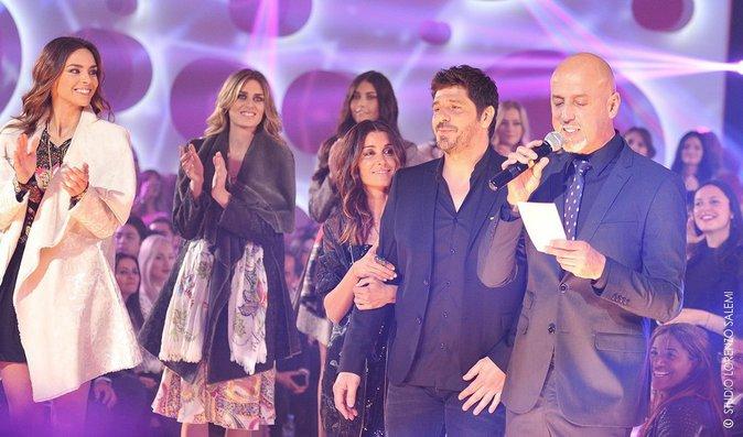 Jenifer et Patrick Fiori lors de la 8e édition du Casa Fashion Show