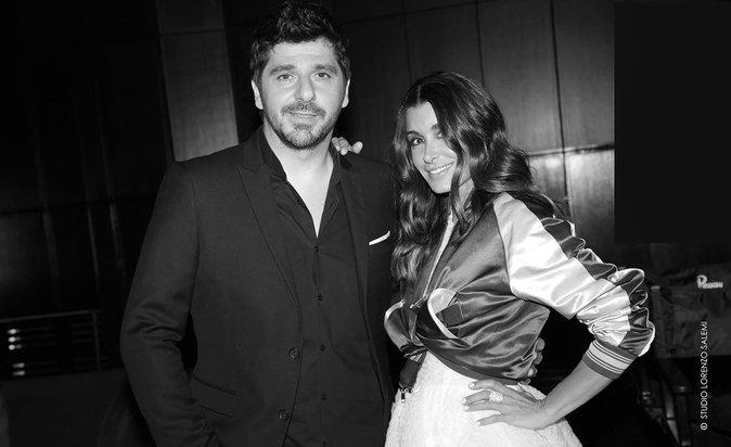 Patrick Fiori et Jenifer lors de la 8e édition du Casa Fashion Show