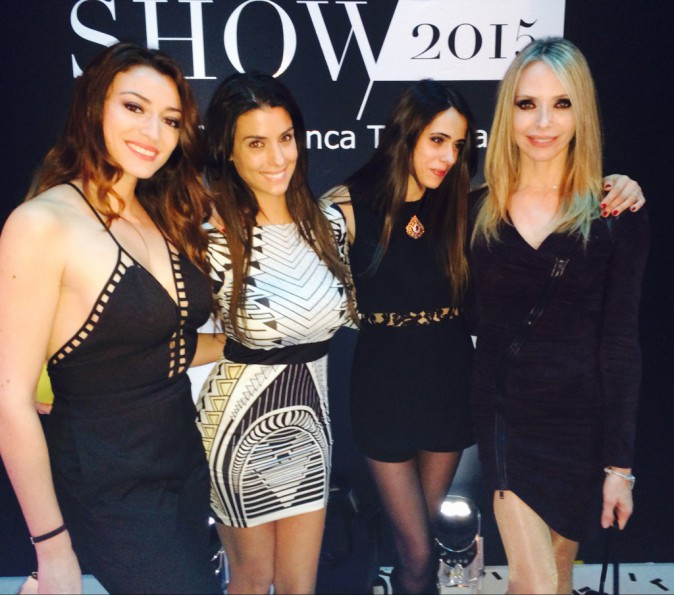 "Rachel Trapani, Ludivine Sagna, Kenza Cheddadi, Tonya Kinzinger au ""Casa Fashion Show"""