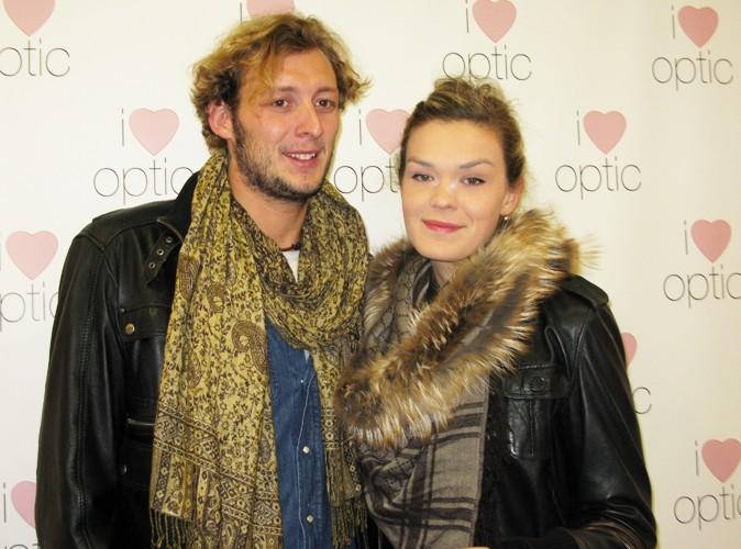 Amaury Leveaux et son amie à la soirée YSL chez I Love Optic