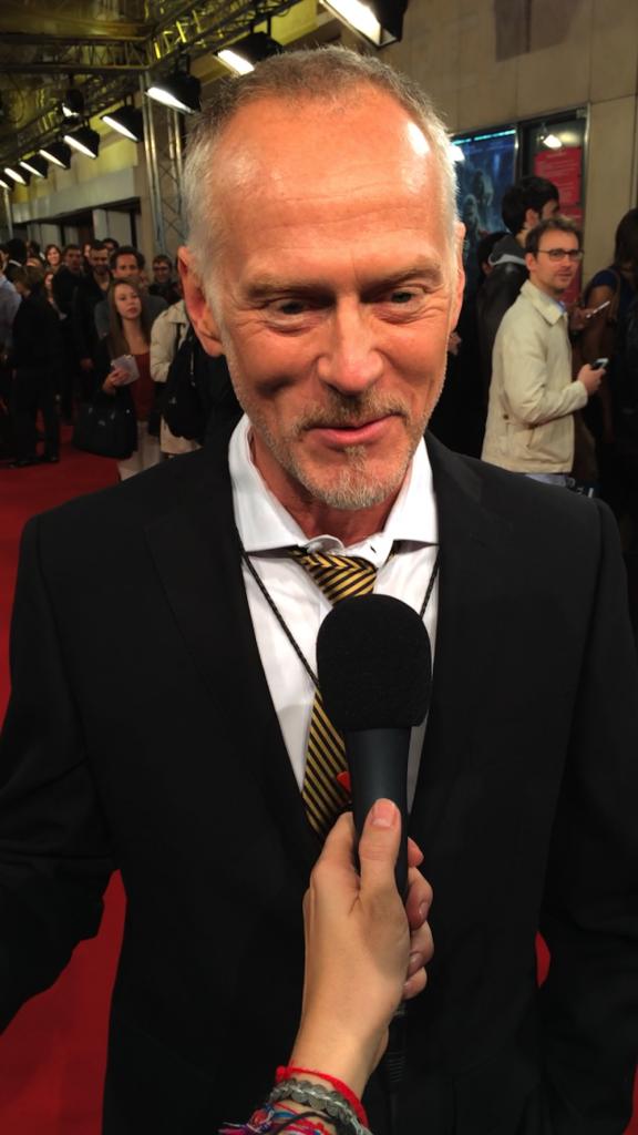 Alan Taylor pour l'avant-première de Thor à Paris le 23 octobre 2013