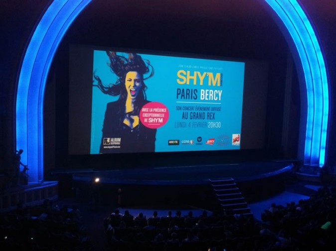 Shy'm au Grand Rex de Paris le 4 février 2013, Public y était !