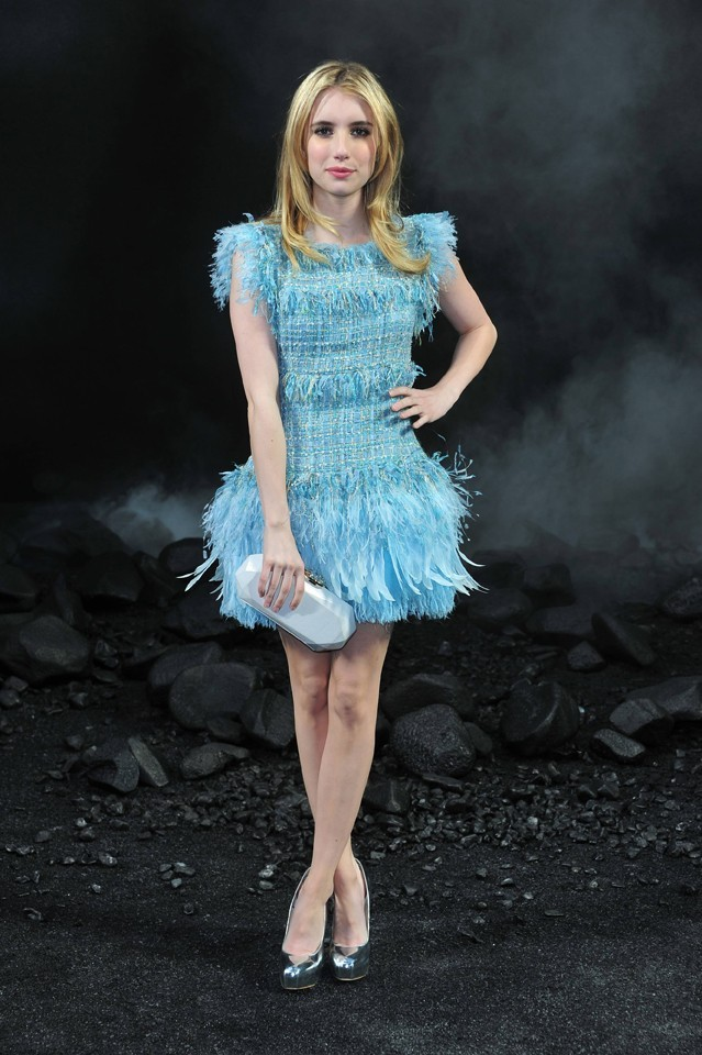 Emma Roberts au défilé Chanel