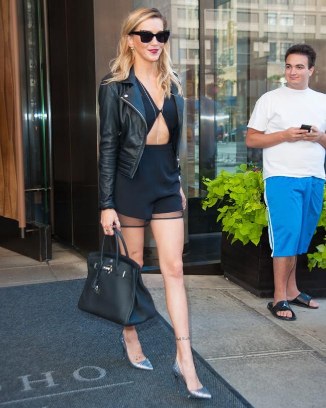 Katie Cassidyà New-York le 14 septembre 2015