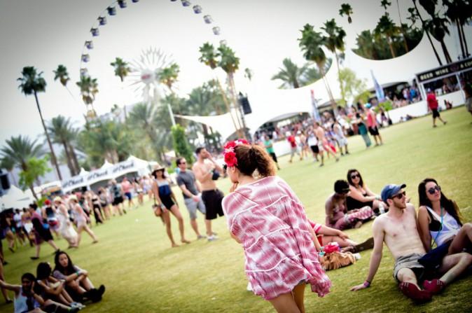 Ambiance carte postale - Coachella JOUR 2