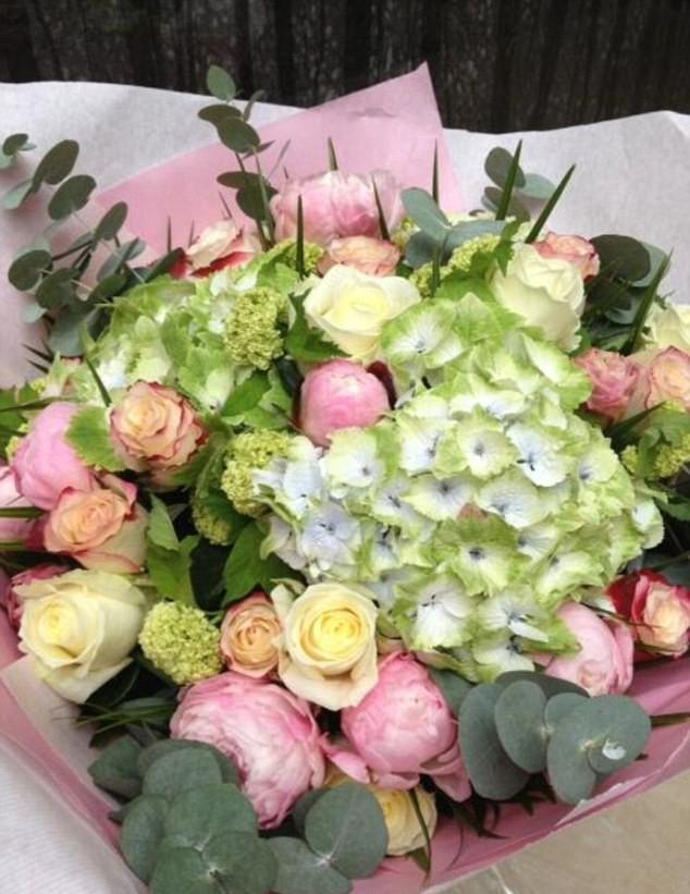 Le bouquet de Cindy Crawford