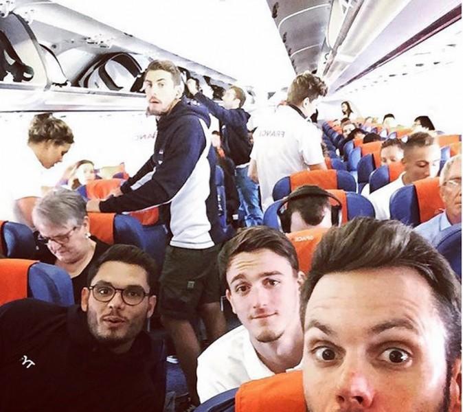 Florent Manaudou, Clément Mignon et Gregory Mallet en route pour Kazan