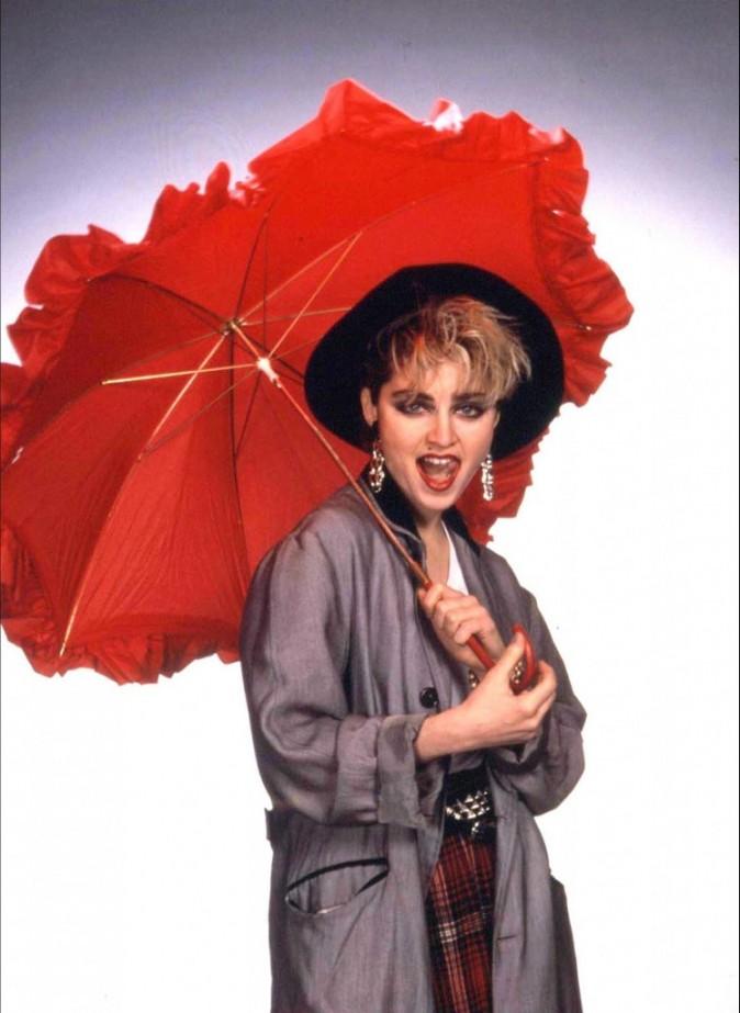 Madonna a ses débuts !