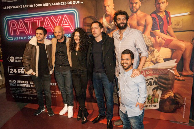 L'équipe du film Pattaya en pleine forme