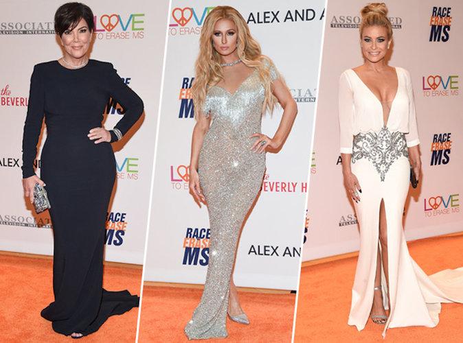 Gala Race to Erase MS 2017 : Kris Jenner, Paris Hilton, Carmen Electra réunies pour la bonne cause !