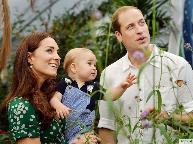 22 juillet 2014 : pour son anniversaire, la famille a dévoilé de nouveaux clichés, pris au Museum d'Histoire naturelle !