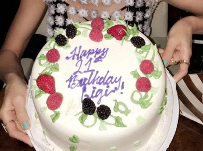 Gâteau d'anniversaire de Gigi Hadid