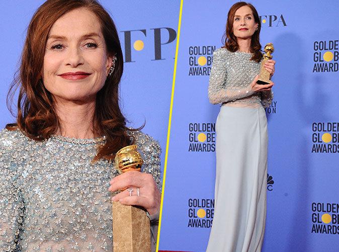 Golden Globes 2017 : la France à l'honneur... Isabelle Huppert sacrée meilleure actrice !