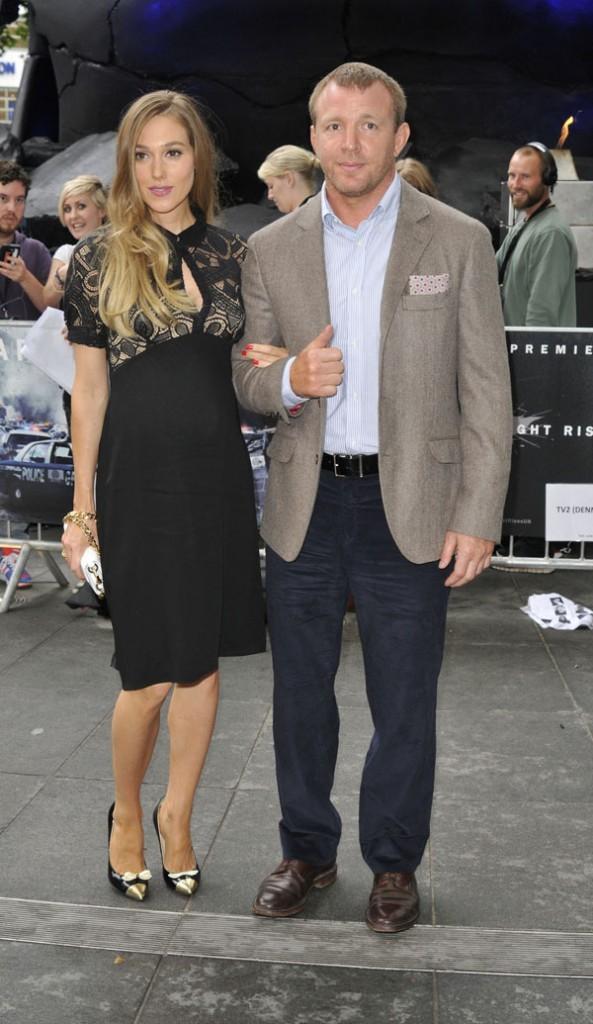 Guy Ritchie et Jacqui Ainsley le 18 juillet 2012 à New York