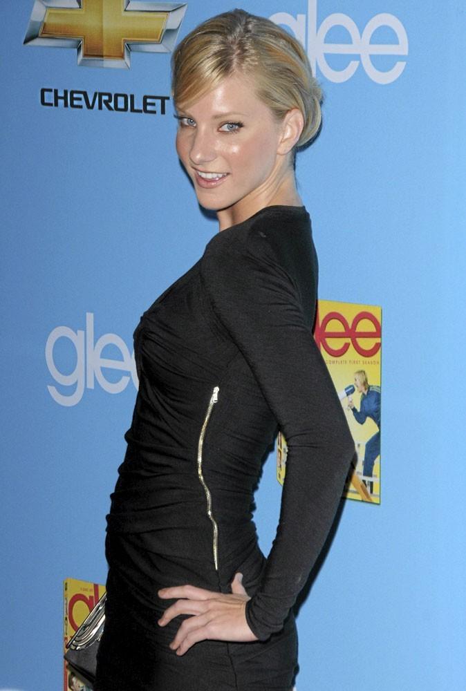 Heather Morris de Glee
