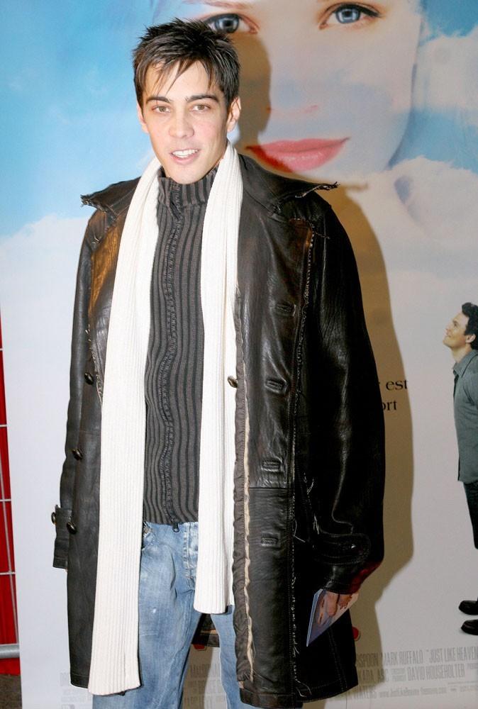 Grégory Lemarchal en 2005 à l'avant première du film Et si c'était vrai...