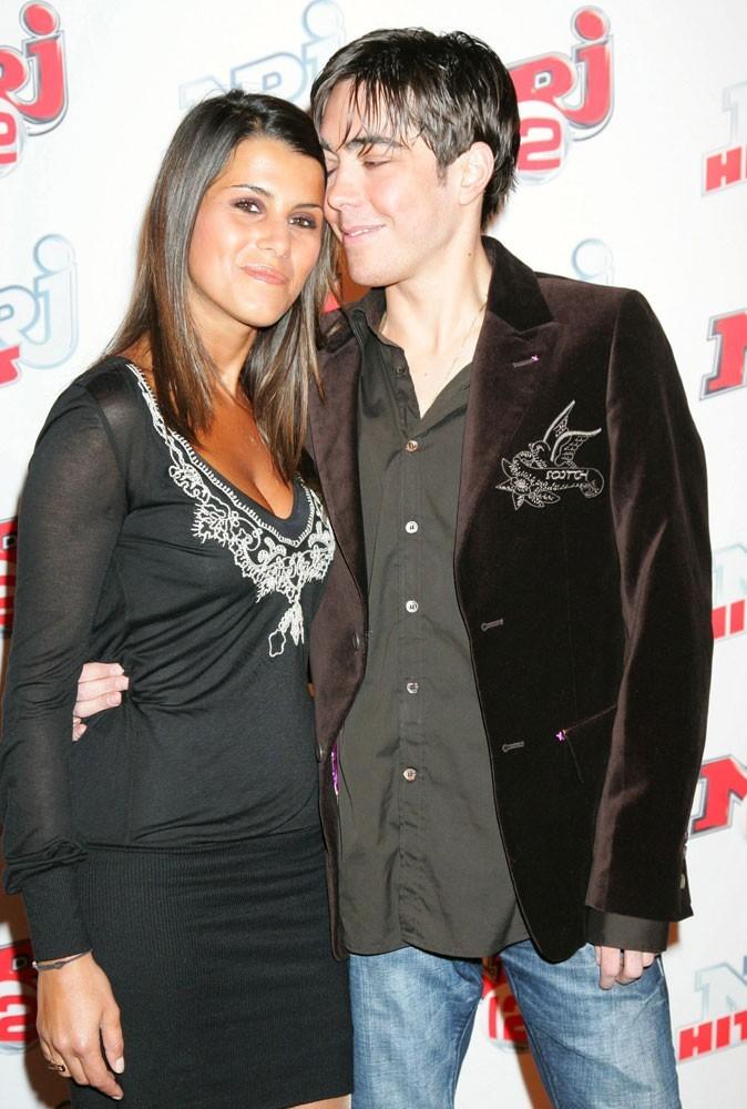 Grégory Lemarchal et Karine Ferri en 2007, à la soirée des deux ans de la chaîne NRJ 12