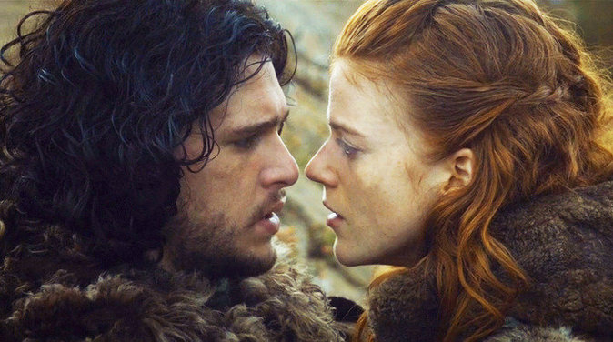 Kit Harington et Rose Leslie dans Game Of Thrones