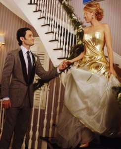 Penn Badgley et Blake Lively (Gossip Girl)