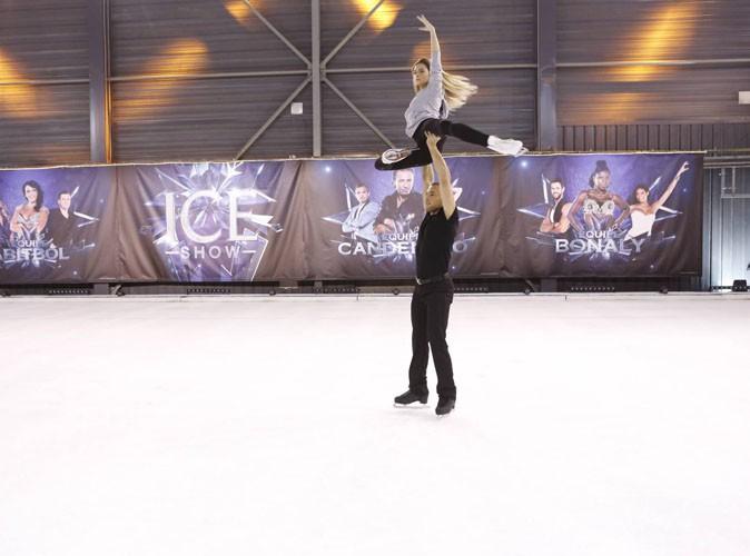 Découvrez la nouvelle vidéo impressionnante de Clara Morgane en répétition d'Ice Show !