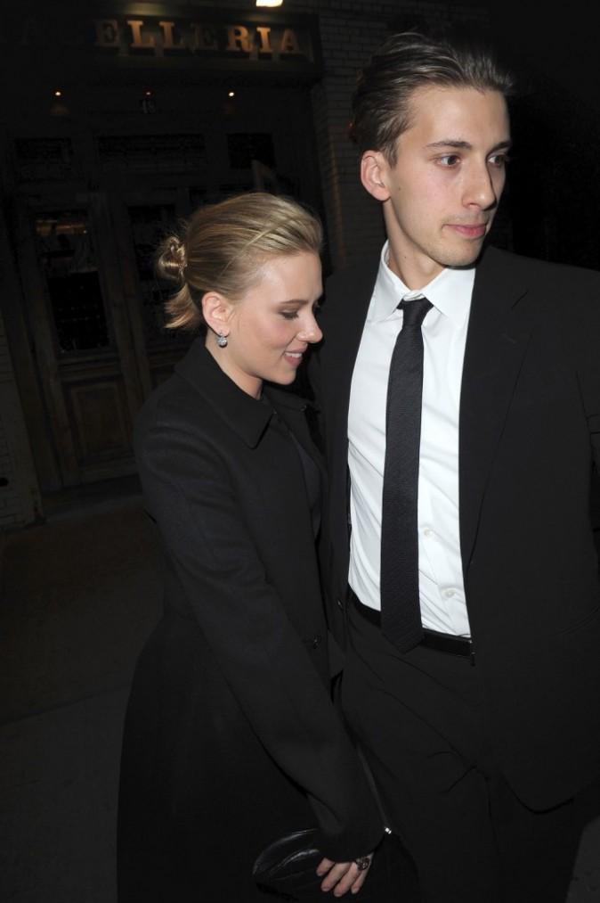 Scarlett et Hunter Johansson